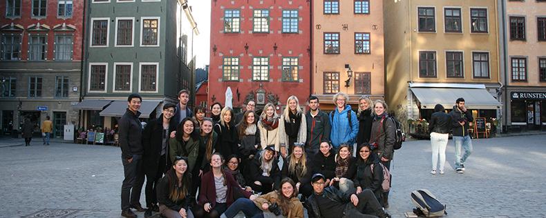 Studerande vid DIS Stockholm: Historia och organisation